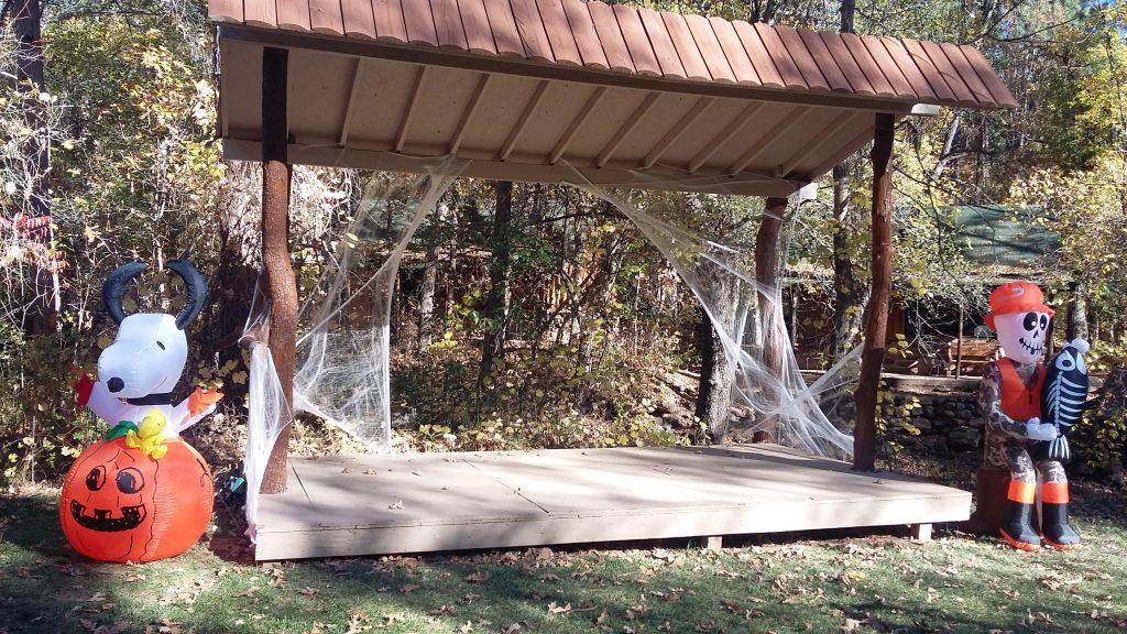 Halloween in Christopher Creek