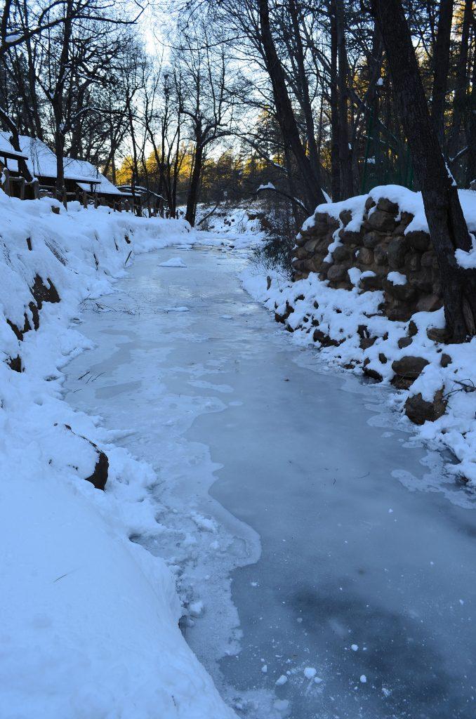 Snow in Christopher Creek