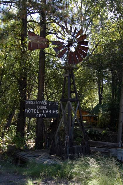 Windmill in Christopher Creek